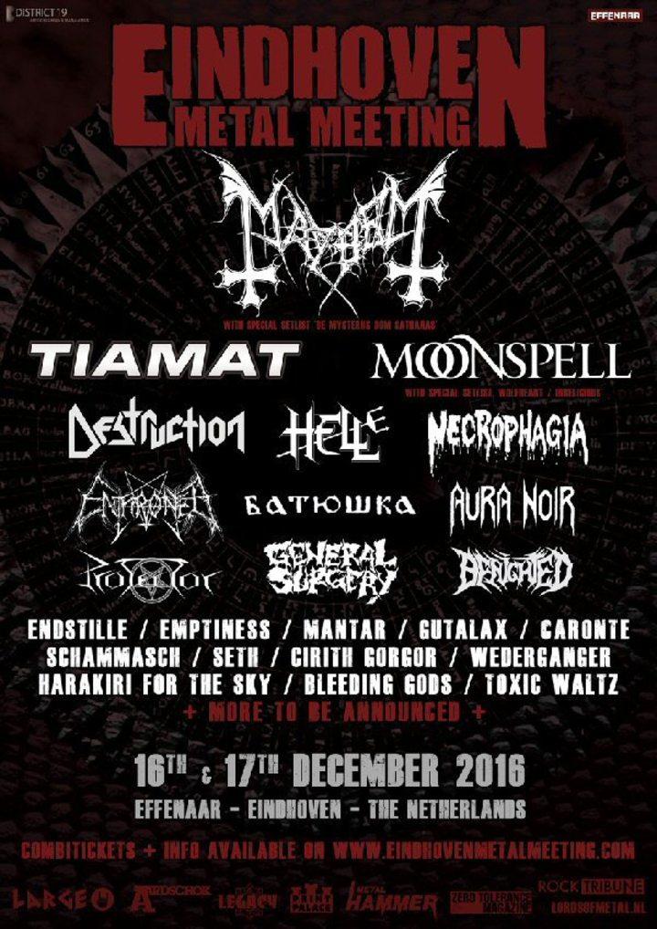 Moonspellofficialband @ Eindhoven Metal Meeting - Eindhoven, Netherlands
