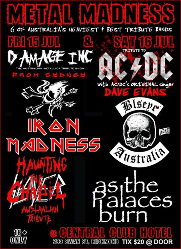 Metal Madness News Tour Dates
