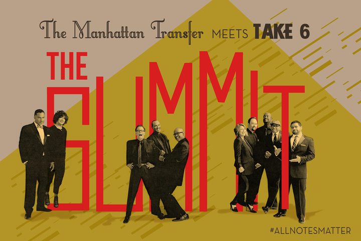 The Manhattan Transfer @ University of Arizona - Centennial Hall - Tucson, AZ