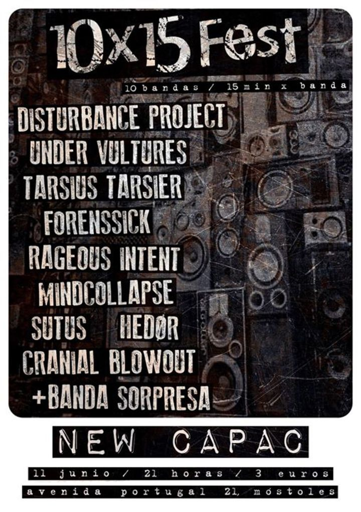 Under Vultures Tour Dates