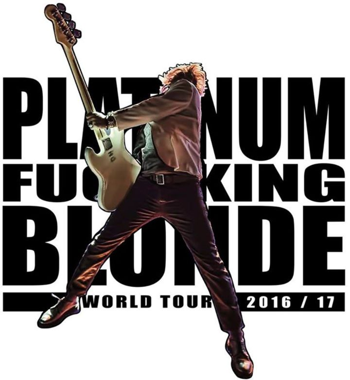 Platinum Blonde Tour Dates
