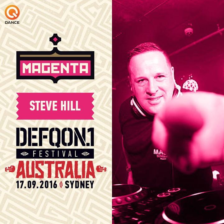DJ Steve Hill Tour Dates