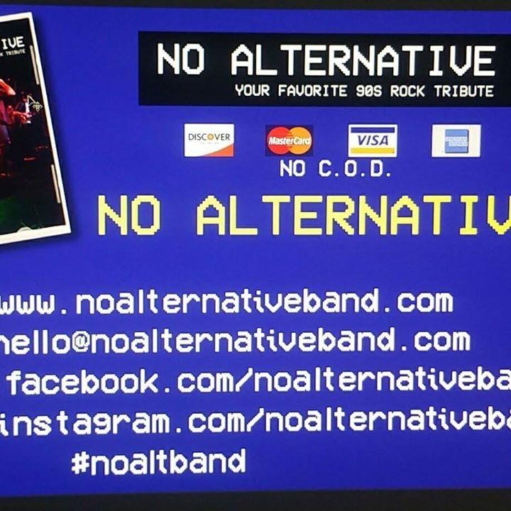 No Alternative Tour Dates