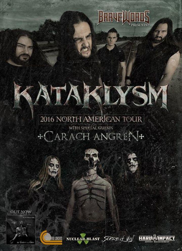 Kataklysm Tour Dates