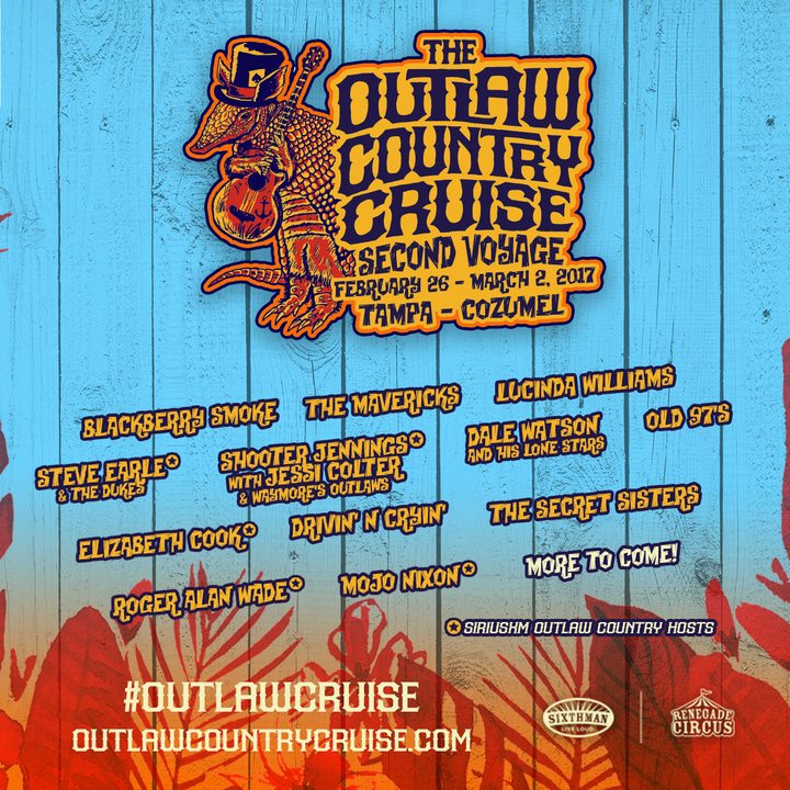 Drivin' N' Cryin' @ Outlaw Country Cruise - Tampa, FL
