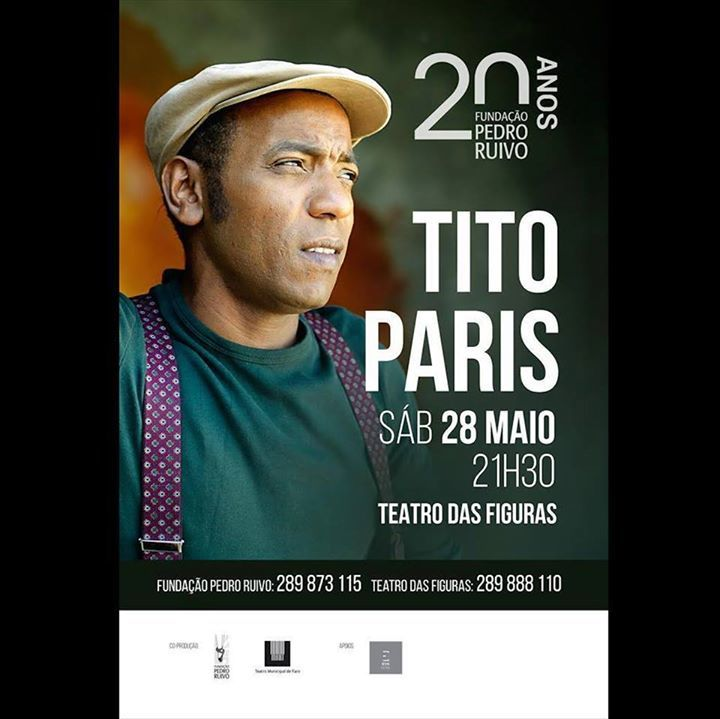 Tito Paris Tour Dates