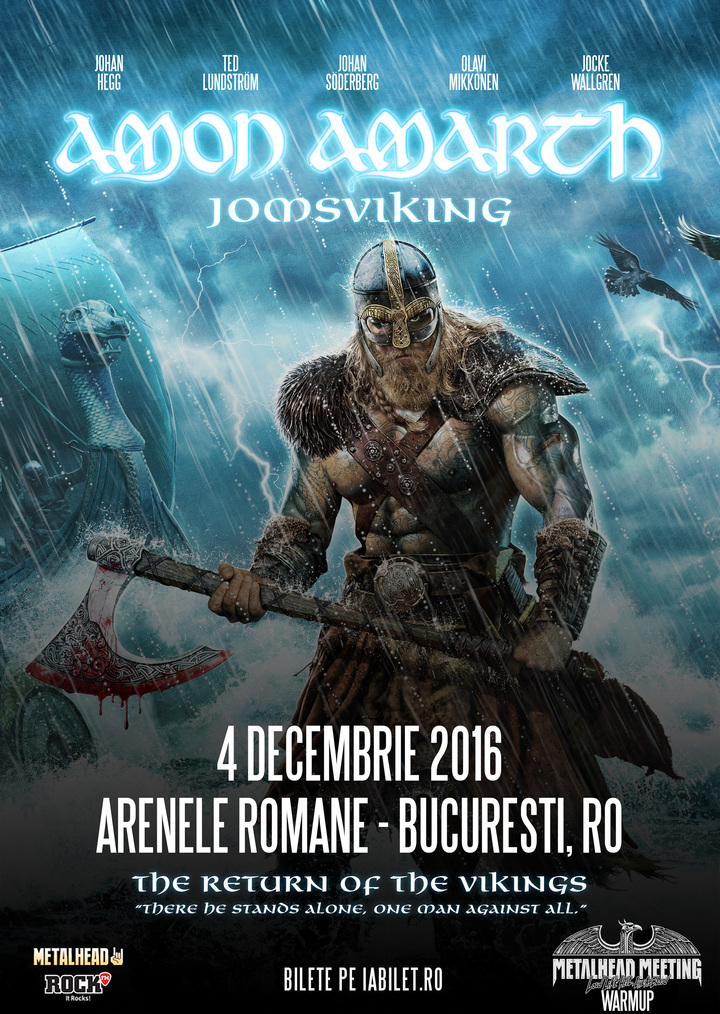 METALHEAD Romania @ Arenele Romane - Bucharest, Romania