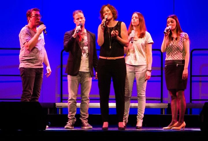Marjolein: Zangeres & Vocal coach @ Kerstconcert Quintella In Samenwerking Met Fanfare Vriendenkring Overloon - Overloon, Netherlands