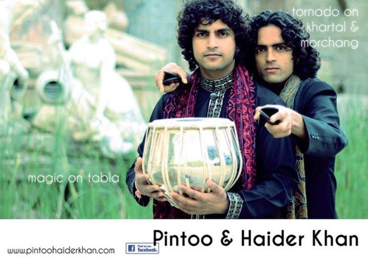 Pintoo & Haider Khan Tour Dates