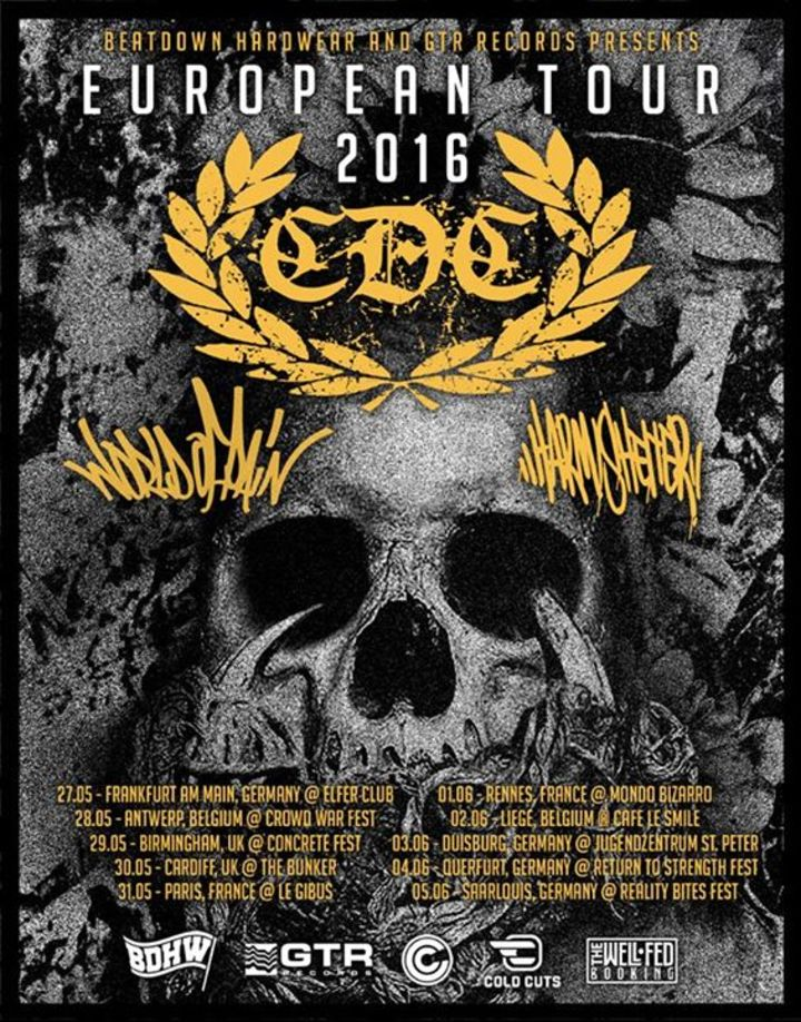 CDC Tour Dates