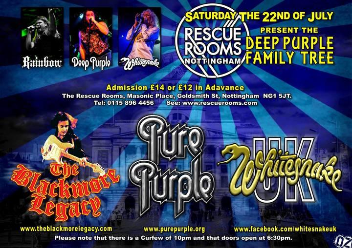 Whitesnake UK (the tribute) @ Rescue Rooms - Nottingham, United Kingdom