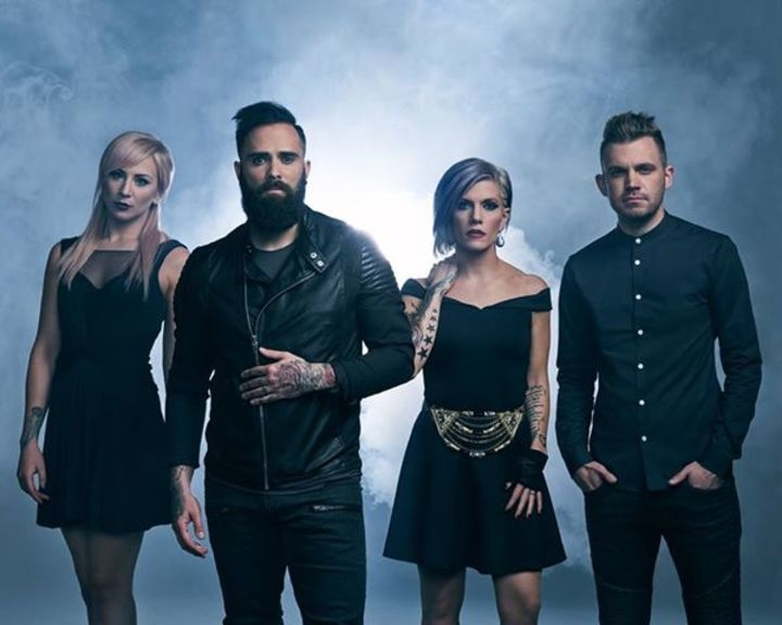 Skillet @ Knoxville Civic Coliseum - Knoxville, TN