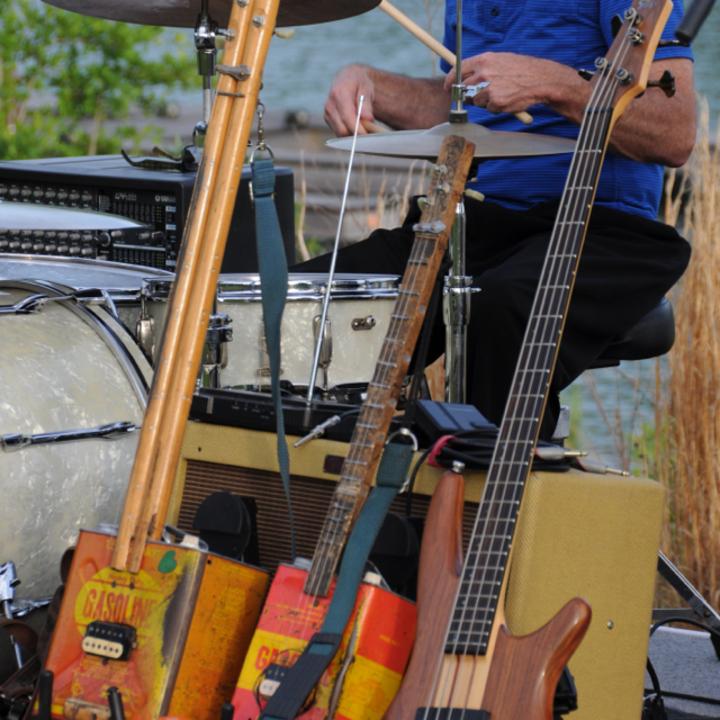 Denis Agenet @ Mac Arnold & Plate full O' Blues / Musiekodroom - Hasselt, Belgium