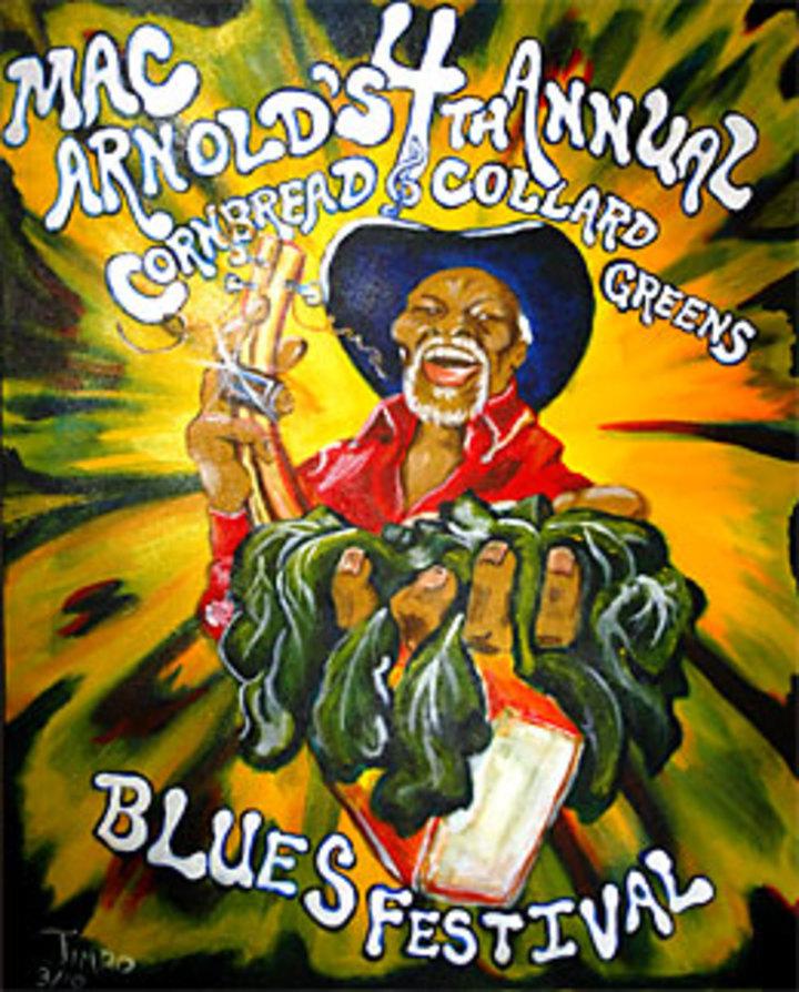 Denis Agenet @ Mac Arnold & Plate full O' Blues / CC Enghis - Hermalle, Belgium