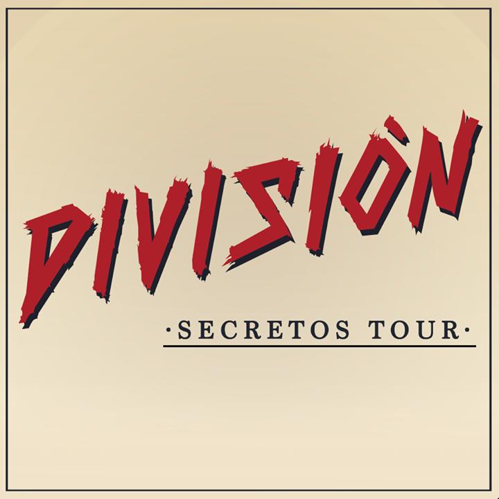 DIVISION MINUSCULA Tour Dates