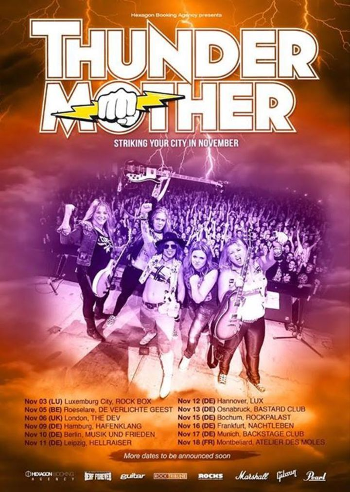 Thundermother Tour Dates