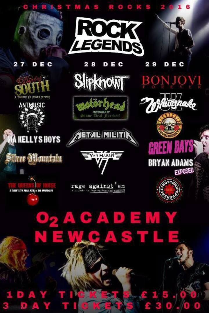 Whitesnake UK (the tribute) @ O2 Academy - Newcastle Upon Tyne, United Kingdom