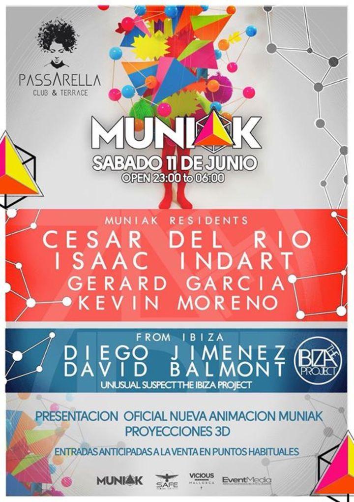 Muniak Tour Dates
