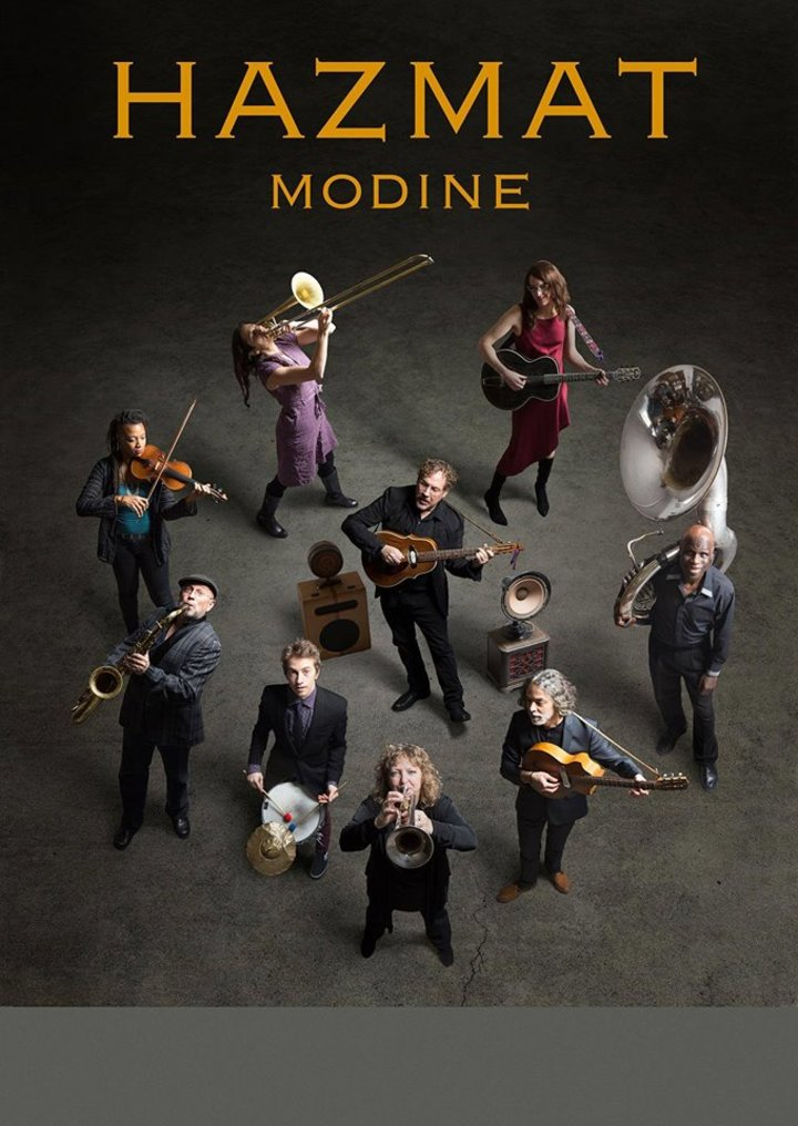 Hazmat Modine Tour Dates