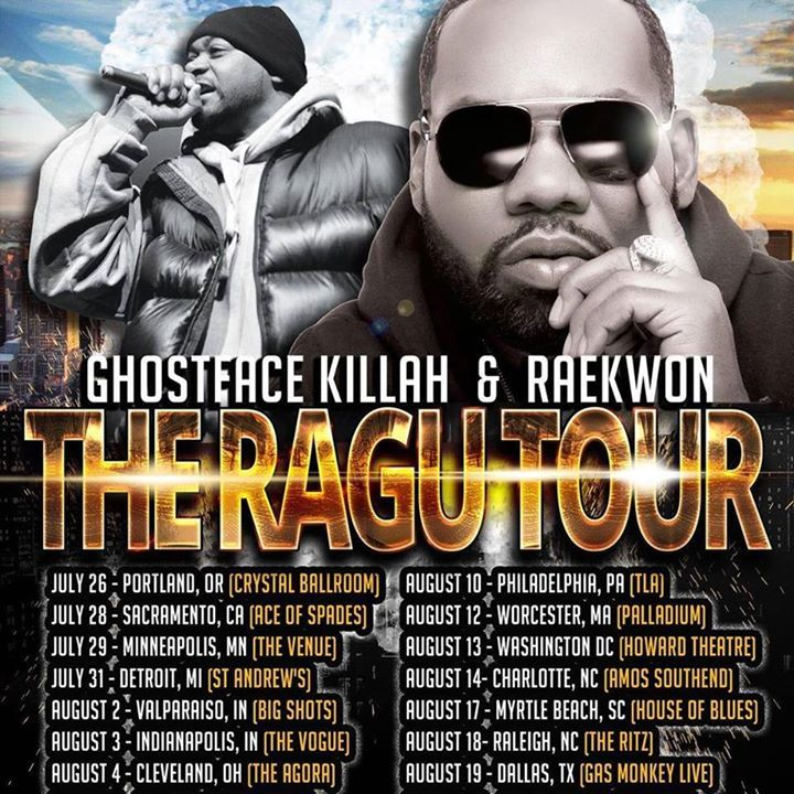 Wu Block Tour Dates
