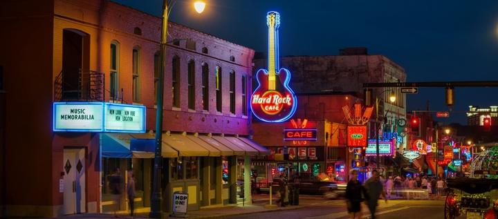 Wolf-Face @ HARD ROCK CAFE - Memphis, TN