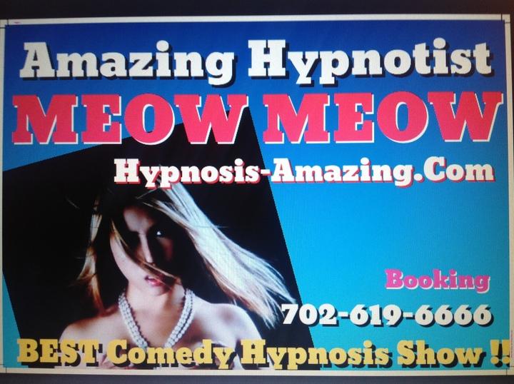 MEOW MEOW - Stage Hypnosis Show @ Atlanta - Atlanta, GA