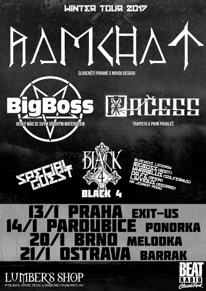 Black 4 @ EXIT - US - Prague, Czech Republic