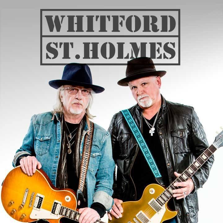 Whitford St. Holmes Tour Dates