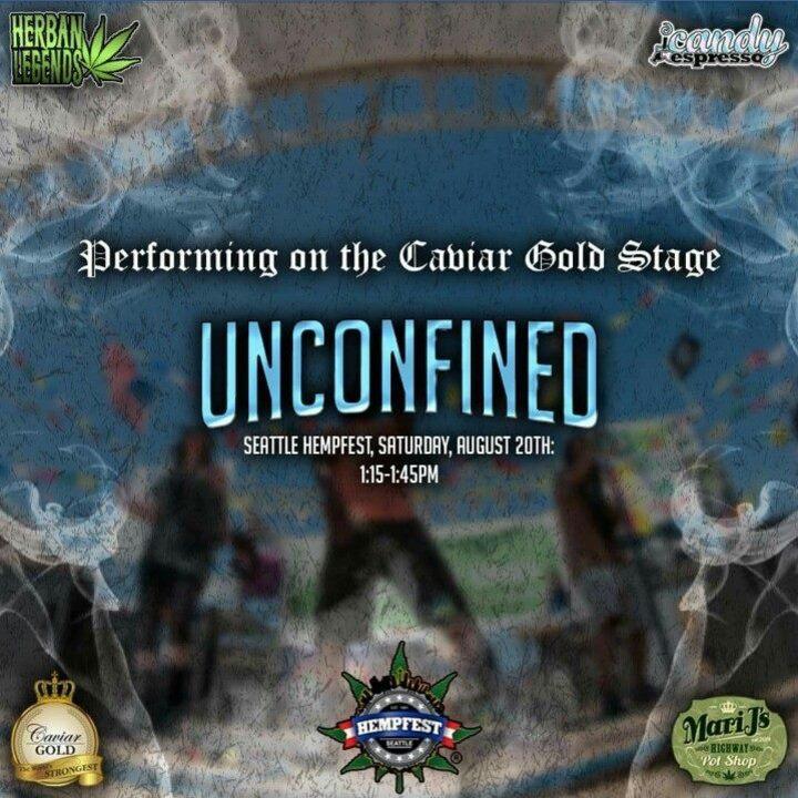 Unconfined Tour Dates