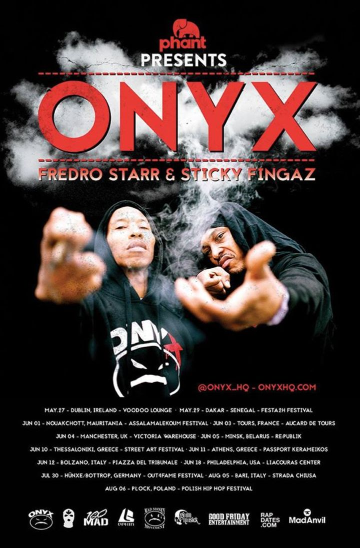 ONYX OFFICIAL PAGE Tour Dates