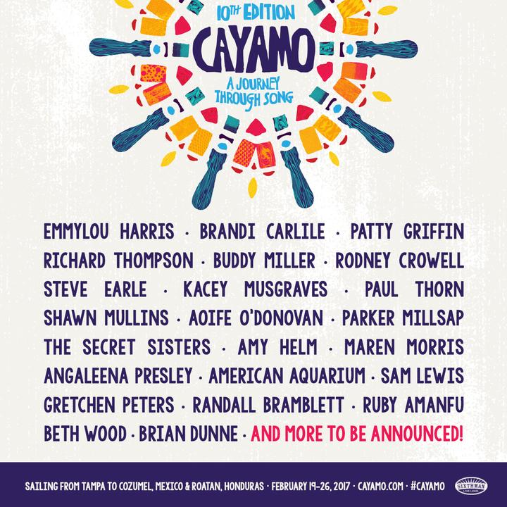 Sam Lewis @ Cayamo - Tampa, FL