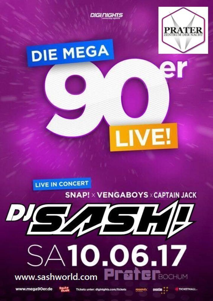 DJ Sash @ Jahrhunderthalle - Bochum, Germany