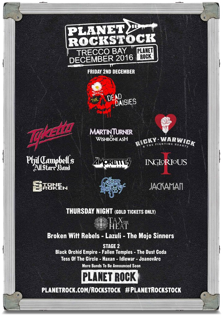 The Dead Daisies @ Planet Rockstock - Trecco Bay, United Kingdom