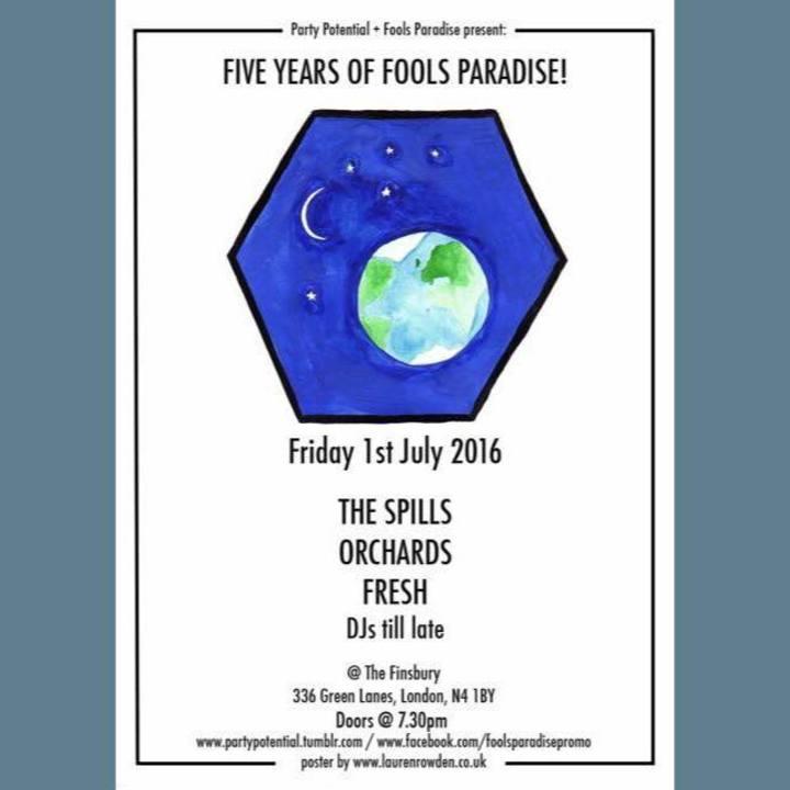 Fools Paradise Tour Dates