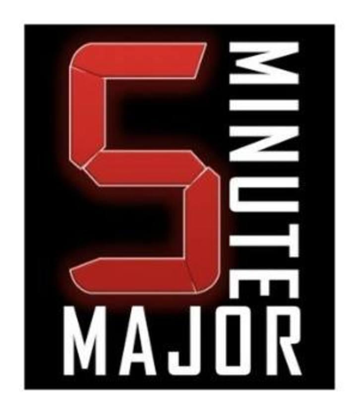 Five Minute Major Tour Dates