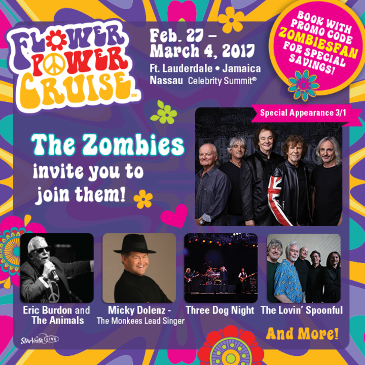 The Zombies @ Flower Power Cruise - Kingston, Jamaica