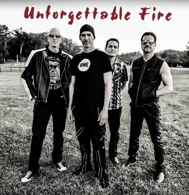Unforgettable Fire U2 tribute band Tour Dates