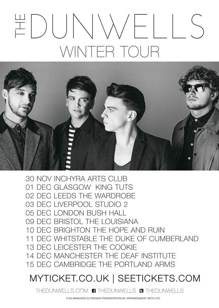 The Dunwells @ Studio 2 - Liverpool, United Kingdom