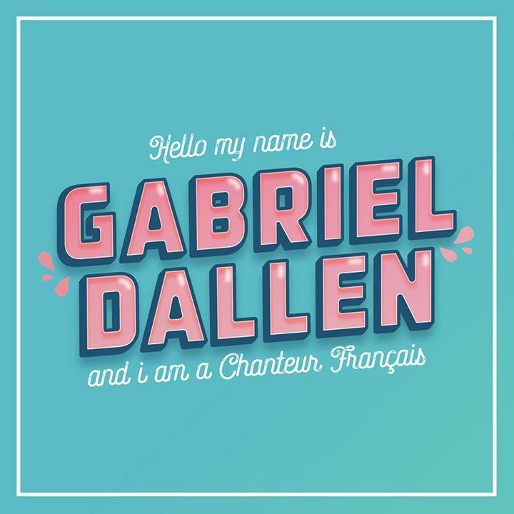 Gabriel Dallen - Officiel Tour Dates