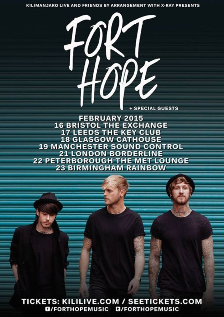 Fort Hope @ Electric Ballroom - London, United Kingdom