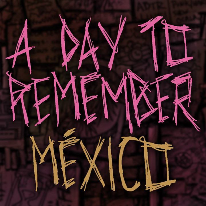 A Day To Remember Mexico Tour Dates