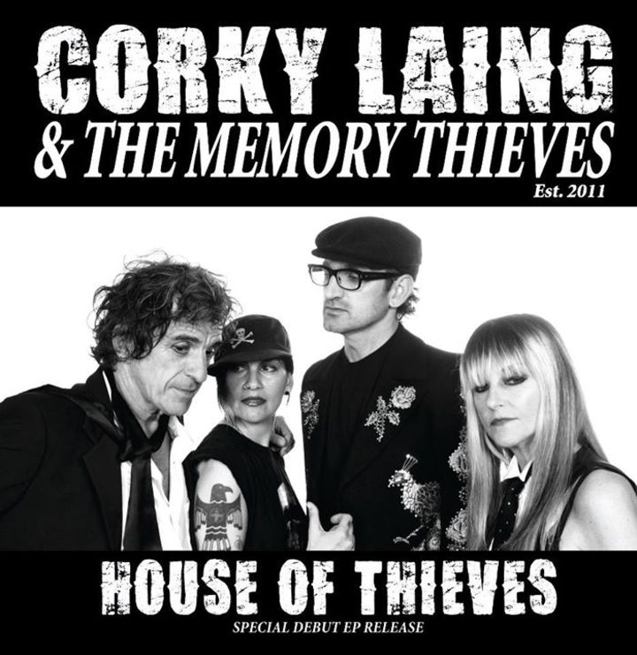Corky Laing & The Memory Thieves Tour Dates