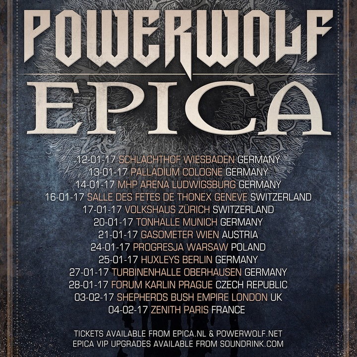 Epica @ Schlachthof  - Wiesbaden, Germany