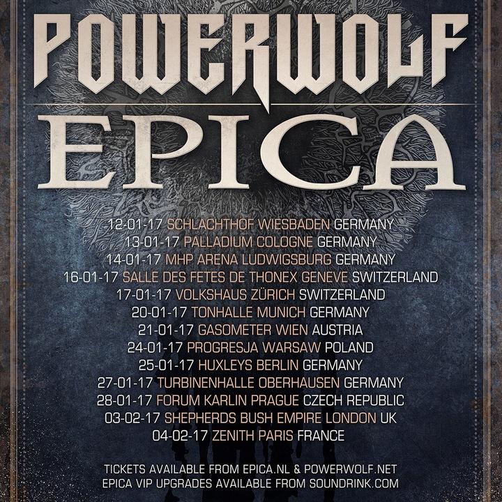 Epica @ Forum Karlin  - Prague, Czech Republic