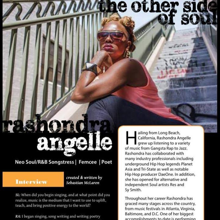 Rashondra Angelle Tour Dates