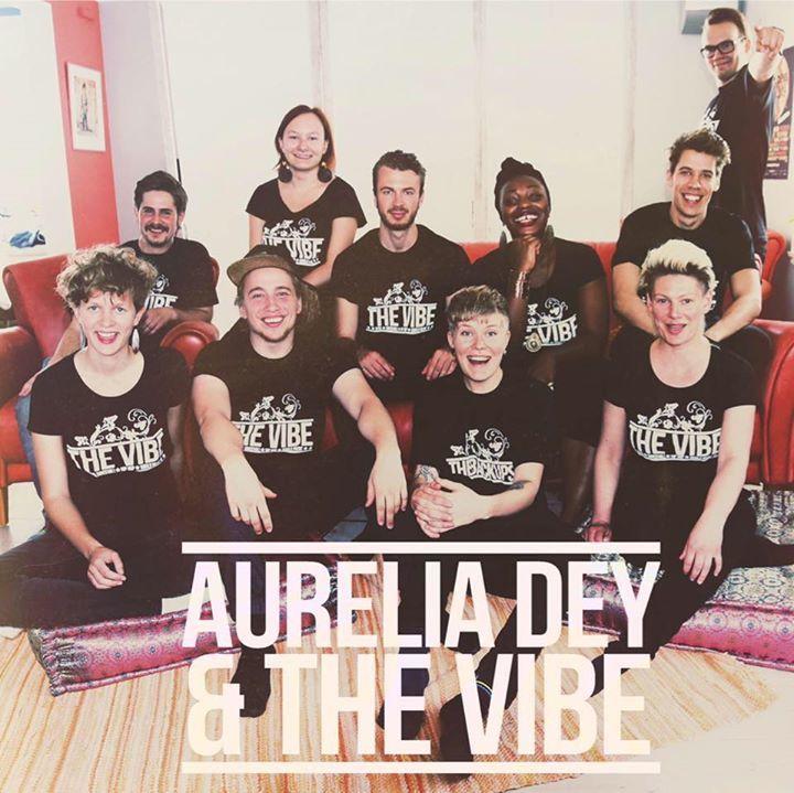 Aurelia Dey & The Vibe Tour Dates
