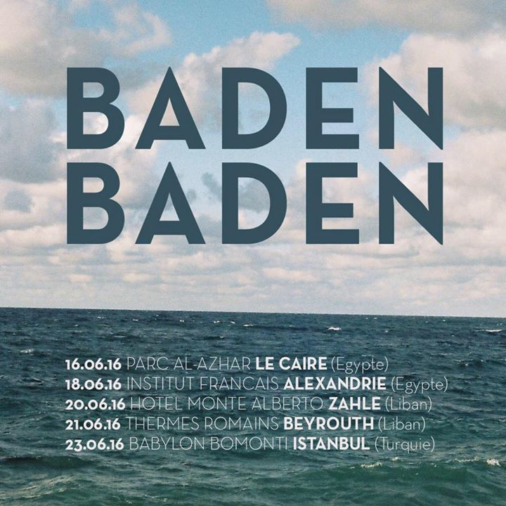 Baden Baden Tour Dates