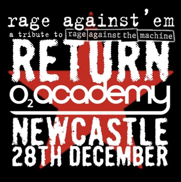 Rage Against'em Tour Dates