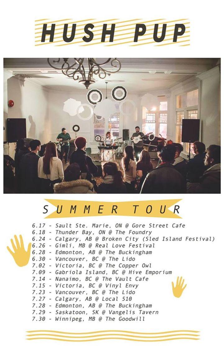 HUSH PUP Tour Dates