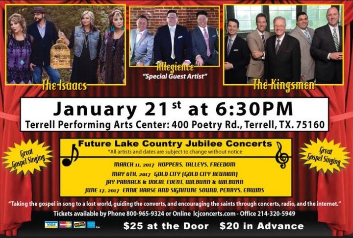 Allegiance Music Ministries @ Terrell Performing Arts Center - Terrell, TX